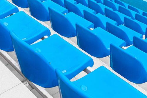 Sedute per Impianti Sportivi, Scuole, Arredo Urbano